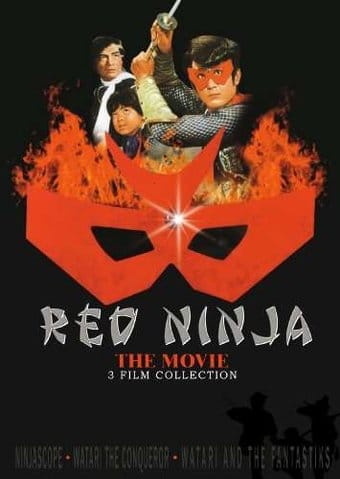 Red Ninja: 3 Film Colection (Ninjascope / Watari