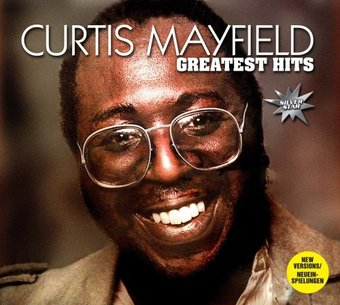 Curtis Mayfield Greatest Hits Cd 2006 Silver Star