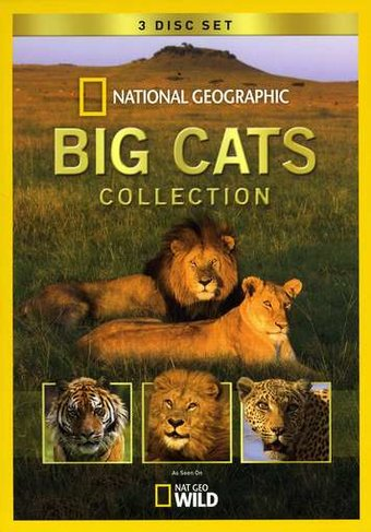 Big Cats Collection (3-DVD)