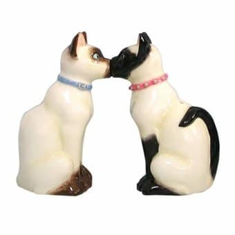 Cats - Siamese Salt & Pepper Shakers