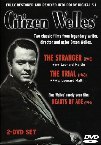 Citizen Welles: The Stranger / The Trial / Hearts