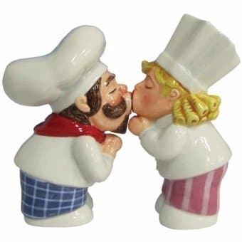Chef Couple - Salt & Pepper Shakers