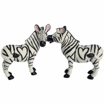 Zebras - Salt & Pepper Shakers