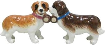 St. Bernards- Salt & Pepper Shakers