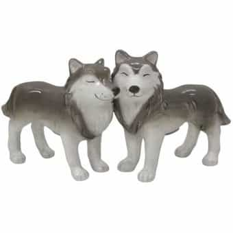 Wolves - Salt & Pepper Shakers