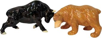 Bull & Bear - Salt & Pepper Shakers