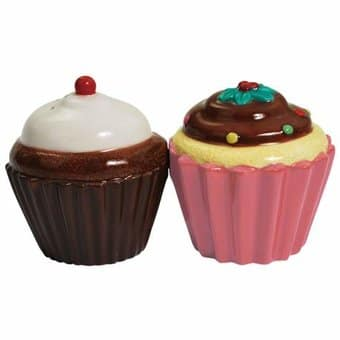 Cupcakes - Salt & Pepper Shakers