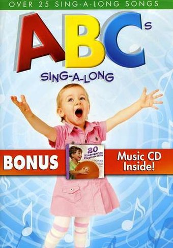 ABC's Sing-A-Long (DVD, CD)