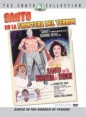 Santo In The Border of Terror (Santo En La