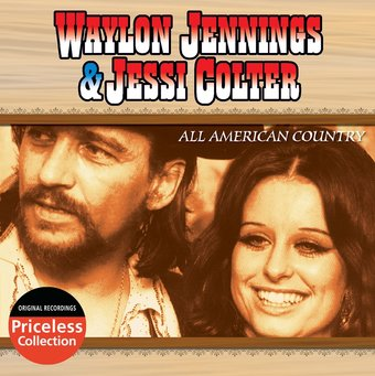 Waylon Jennings Jessi Colter All American Country Cd