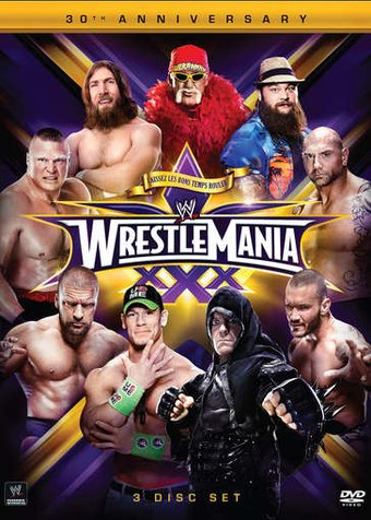WWE Wrestlemania 30 (3-DVD)