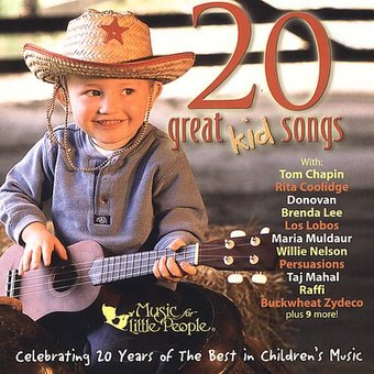 20 Great Kid Songs: Music for Little People 20th