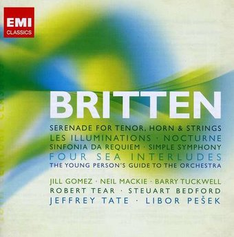 Britten: Serenade for Tenor, Horns & Strings; Les