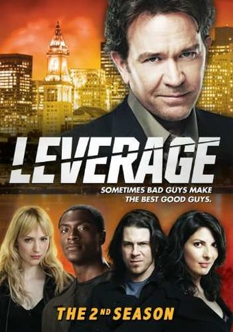 Leverage - Season 2 (4-DVD)