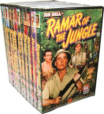 Ramar of The Jungle - Volumes 1-11 and Feature