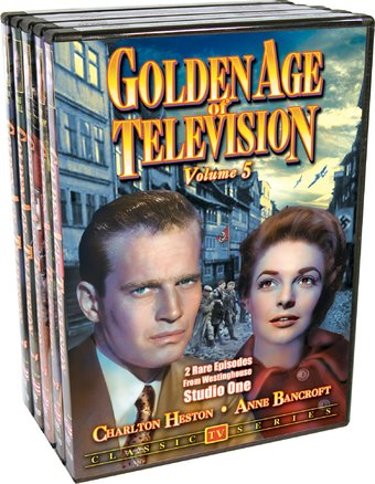 Golden Age of Television - Volumes 1-5 (5-DVD)