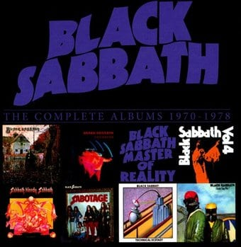 The Complete Albums 1970-1978 (8-CD Box Set)
