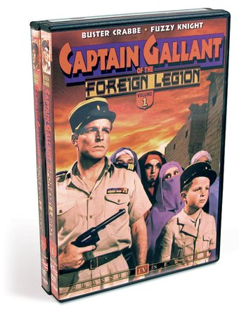 Captain Gallant of the Foreign Legion - Volumes 1