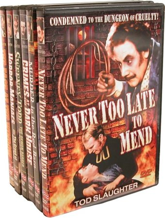 Tod Slaughter Vintage Terror Collection (Murder