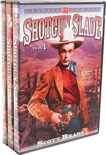 Shotgun Slade - Volumes 1-3 (3-DVD)