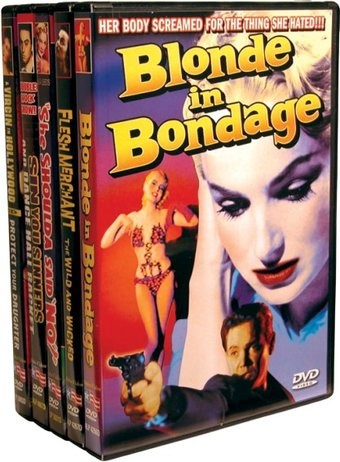 Vintage Exploitation: Blonde In Bondage (1957) /