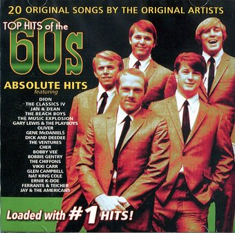 Absolute Hits Top Hits Of The 60s 20 Original Hits Cd