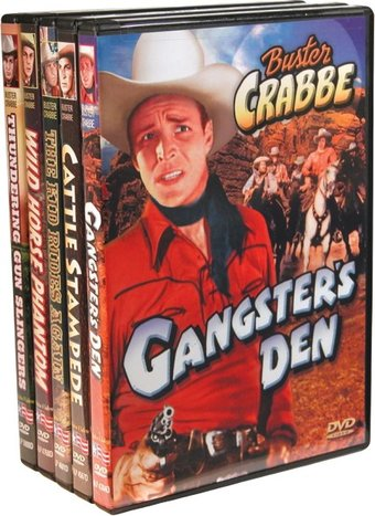 Buster Crabbe Western Feature Films: Gangster's