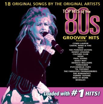 Top hits of the 80s groovin 39 hits cd 2000 for 80s house music hits