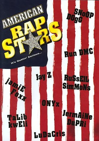 American Rap Stars (American Flag Cover Art)