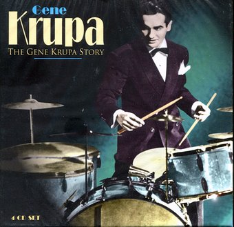 The Gene Krupa Story [Box Set] (4-CD)
