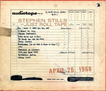 Just Roll Tape 4/26/68 (180Gv)