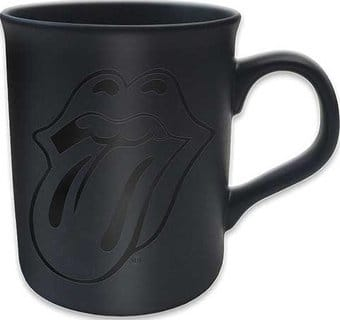 Rolling Stones - Tongue Black Matte 10 oz. Mug