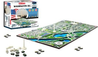 Washington D. C. - History Over Time 3D Puzzle