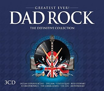 Greatest Ever Dad Rock 3 Cd 2016 Imports Oldies Com