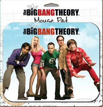 The Big Bang Theory - Cast Mouse Pad