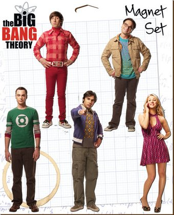 The Big Bang Theory - 5-Pack Magnet Set