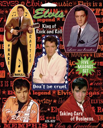 Elvis Presley - The King of Rock & Roll - 5-Piece