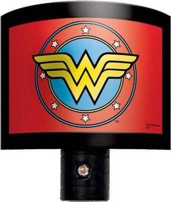DC Comics - Wonder Woman - Logo - Night Light