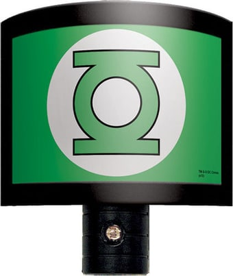 Green Lantern - Logo - Night Light