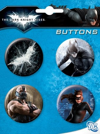 Batman: The Dark Knight Rises - 4-Piece Round