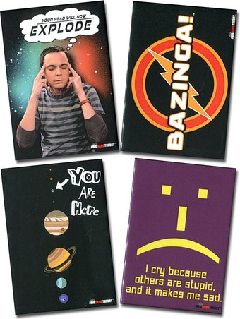 4-Piece Magnet Set (Set 1)