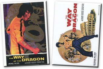 Bruce Lee - Set of 2 Magnets