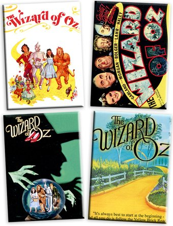 The Wizard of Oz - Set of 4 Magnets (Set 2)