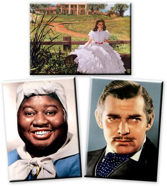 Gone With The Wind - 3-Piece Magnet Set (Set 2)