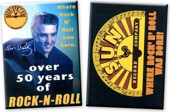 Sun Records - 2-Piece Magnet Set