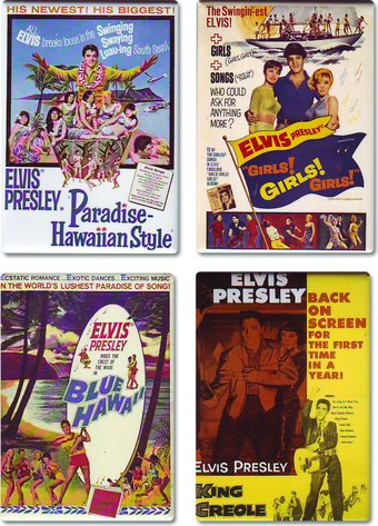 Movies - 4-Piece Magnet Set