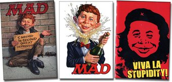 Mad Magazine - Set of 3 Magnets