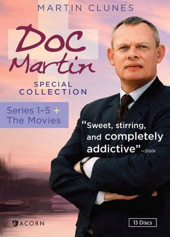Doc Martin - Series 1-5 + the Movies (13-DVD)