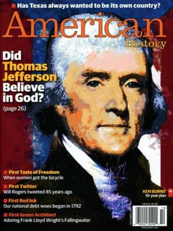 American History - Volume #46, Issue #4