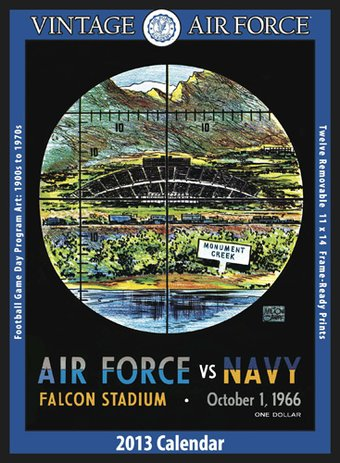 Football - Air Force Falcons - Vintage 2013